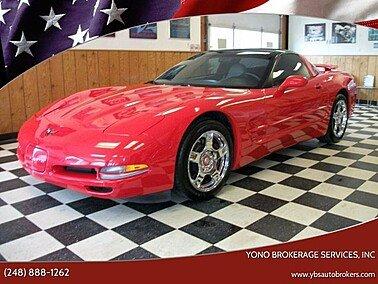 1998 Chevrolet Corvette for sale 101557750