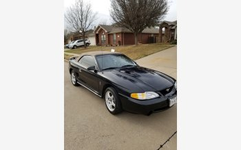 1998 Ford Mustang Cobra Convertible for sale 101274357