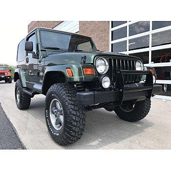 1998 Jeep Wrangler 4WD Sahara for sale 101559394