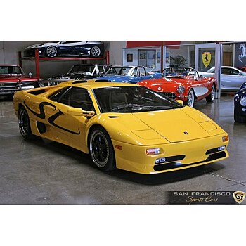 1998 Lamborghini Diablo SV Coupe for sale 100907950