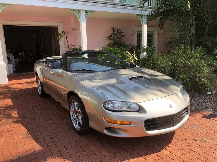 1999 Chevrolet Camaro Z28 Convertible for sale 101450866
