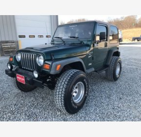 1999 Jeep Wrangler 4WD Sport for sale 101113547