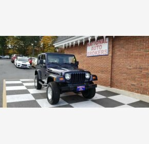 1999 Jeep Wrangler 4WD SE for sale 101216180