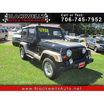 1999 Jeep Wrangler for sale 101343176