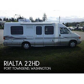 1999 Winnebago Rialta for sale 300189155