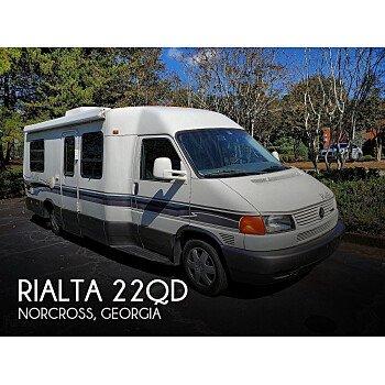 1999 Winnebago Rialta for sale 300265401