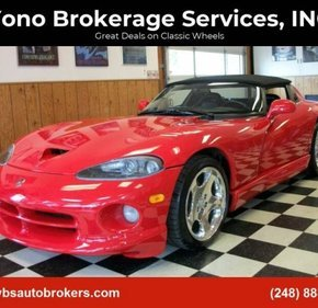 2000 Dodge Viper RT/10 Roadster for sale 101231834