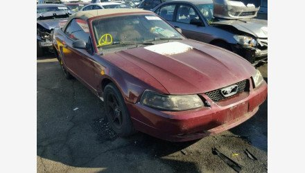 2000 Ford Mustang GT Convertible for sale 101105006