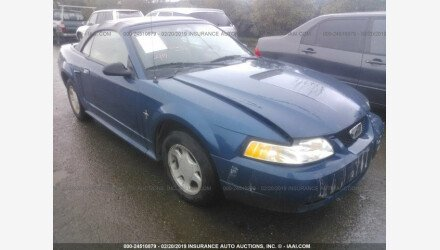2000 Ford Mustang Convertible for sale 101129835