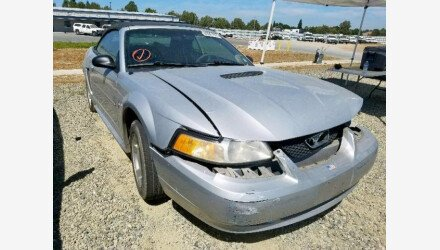 2000 Ford Mustang Convertible for sale 101205829