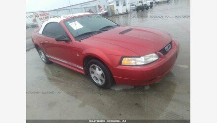 2000 Ford Mustang Convertible for sale 101291813