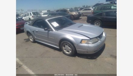 2000 Ford Mustang Convertible for sale 101346766