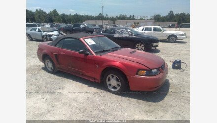 2000 Ford Mustang Convertible for sale 101346770