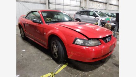 2000 Ford Mustang Convertible for sale 101443387