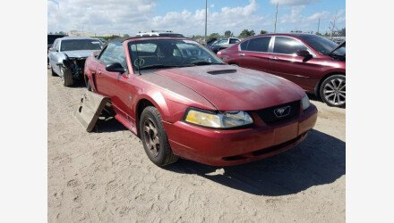 2000 Ford Mustang Convertible for sale 101490381