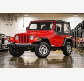 2000 Jeep Wrangler 4WD SE for sale 101241347