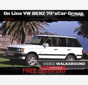 2000 Land Rover Range Rover for sale 101347816