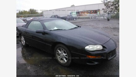 2001 Chevrolet Camaro Convertible for sale 101241226