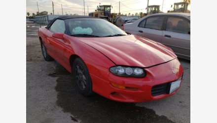 2001 Chevrolet Camaro Convertible for sale 101468631