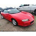2001 Chevrolet Camaro Convertible for sale 101606716