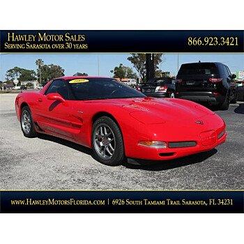 2001 Chevrolet Corvette Z06 Coupe for sale 101275410