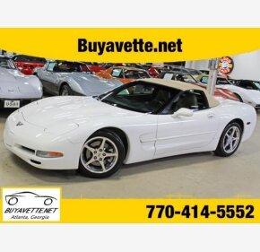 2001 Chevrolet Corvette Convertible for sale 101300527