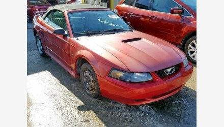 2001 Ford Mustang Convertible for sale 101126986