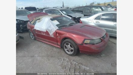 2001 Ford Mustang Convertible for sale 101127772