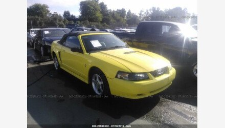 2001 Ford Mustang Convertible for sale 101194532