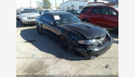 2001 Ford Mustang Cobra Coupe for sale 101226073