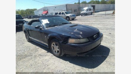 2001 Ford Mustang Convertible for sale 101341633
