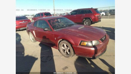 2001 Ford Mustang Coupe for sale 101415748