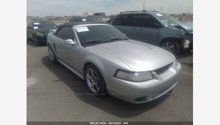 2001 Ford Mustang Cobra Convertible for sale 101494295