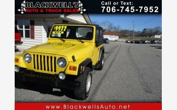 2001 Jeep Wrangler 4WD Sport for sale 101082695