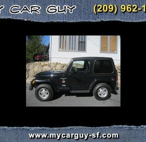 2001 Jeep Wrangler 4WD Sahara for sale 101267519