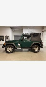 2001 Jeep Wrangler for sale 101436465