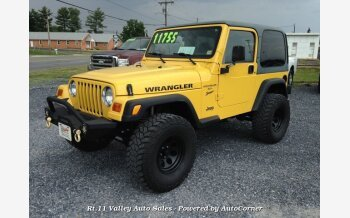 2001 Jeep Wrangler for sale 101565293