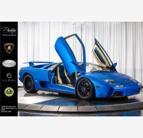 2001 Lamborghini Diablo VT 6.0 Coupe for sale 101080309