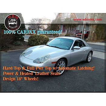 2001 Porsche 911 Cabriolet for sale 101270024