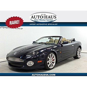 2002 Aston Martin DB7 Vantage Volante for sale 101056585