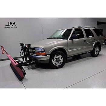 2002 Chevrolet Blazer for sale 101236791