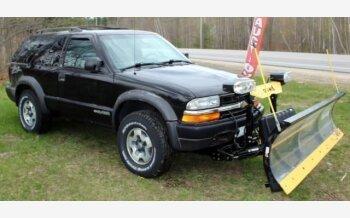 2002 Chevrolet Blazer 4WD 2-Door for sale 101325372