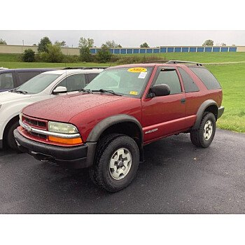 2002 Chevrolet Blazer for sale 101591297