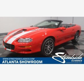 2002 Chevrolet Camaro Z28 Convertible for sale 100975602