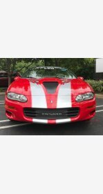 2002 Chevrolet Camaro Z28 Convertible for sale 101021507