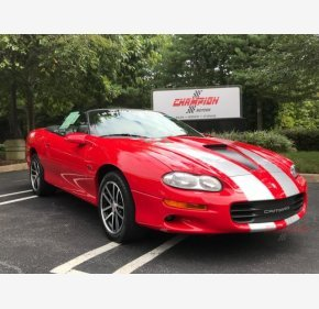 2002 Chevrolet Camaro Z28 Convertible for sale 101022299