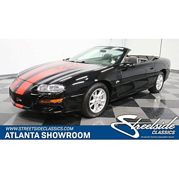 2002 Chevrolet Camaro Z28 Convertible for sale 101071325