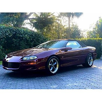 2002 Chevrolet Camaro Z28 Convertible for sale 101407592