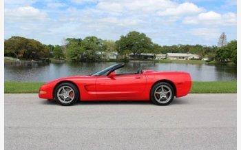 2002 Chevrolet Corvette Convertible for sale 101110350
