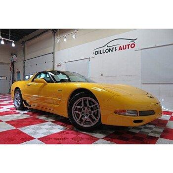 2002 Chevrolet Corvette Z06 Coupe for sale 101213097